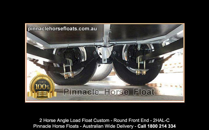 2 Horse Angle Load Float Custom Made 2hal C 2hal