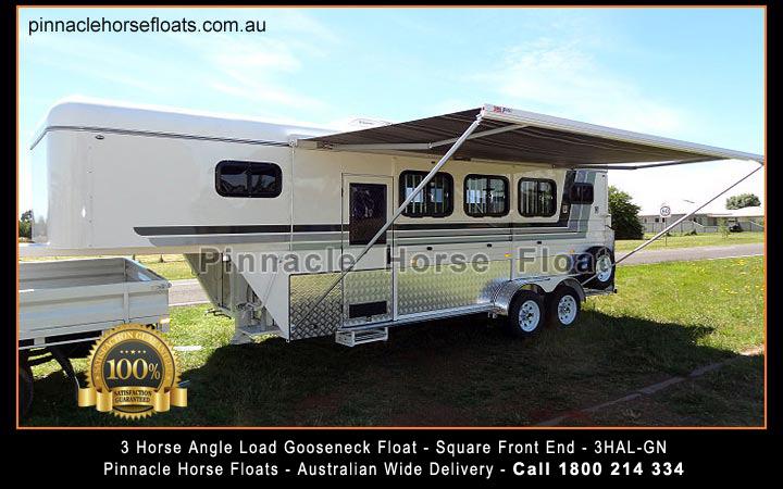 3 Horse Angle Load Gooseneck Float 3hal Gn 3hal G