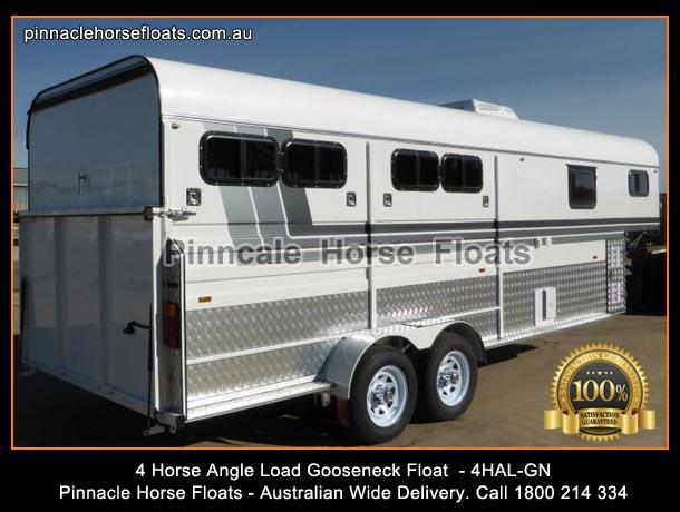 4 Horse Float Angle Load Gooseneck Horse Float 4hal Gn