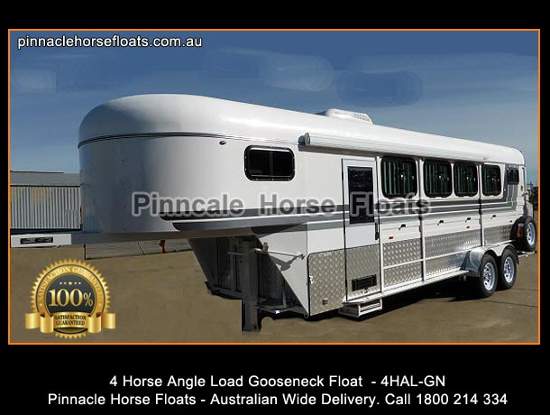 4 Horse Float Angle Load Gooseneck Horse Float 4hal Gn